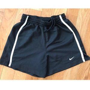 Nike Drawstring Shorts Black Size Youth Large